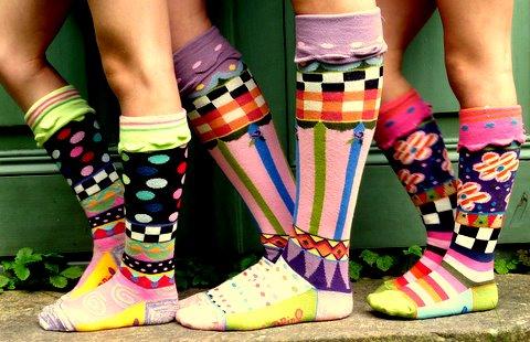 chaussettes rigolottes